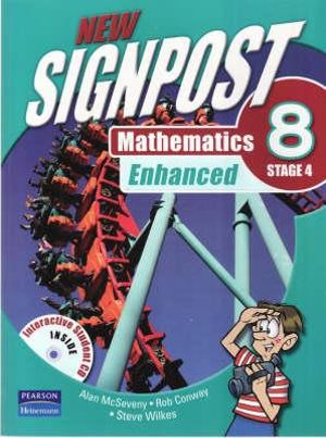 New Signpost Mathematics Enhanced 8 Stage 4 : 2nd Edition - Alan McSeveny