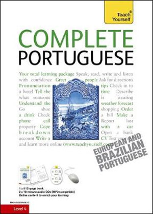 Complete Portuguese - Book / CD Pack - Manuela Cook