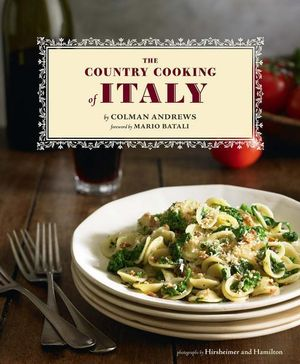 Country Cooking of Italy - Colman Andrews