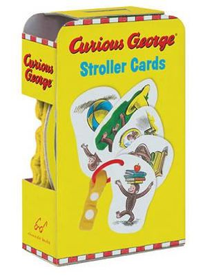 Curious George Stroller Cards - Curious George