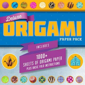 Deluxe Origami Paper Pack - Sterling Publishing Co Inc