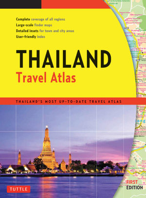Thailand Travel Atlas - Periplus Editions