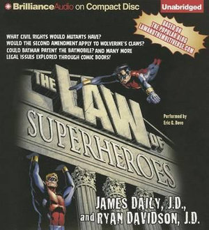 The Law of Superheroes - James Daily