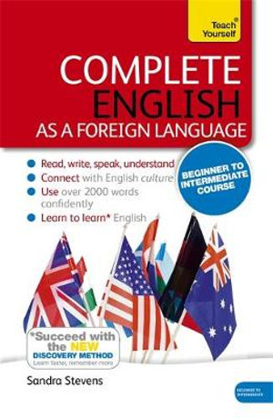 Complete English as a Foreign Language (Learn English as a Foreign Language with Teach Yourself) - Sandra Stevens