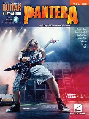 Pantera : Guitar Play-Along Vol. 163