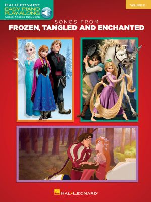 Easy Piano Play-Along: Volume 32 : Songs from Frozen, Tangled and Enchanted - Hal Leonard Publishing Corporation
