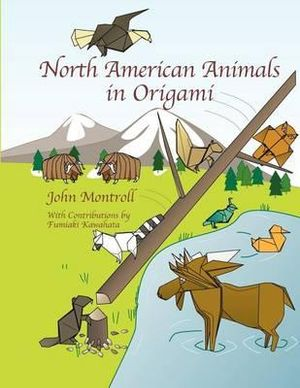 booktopia north american animals in origami second