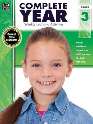 Complete Year, Grade 3 : Weekly Learning Activities - Thinking Kids