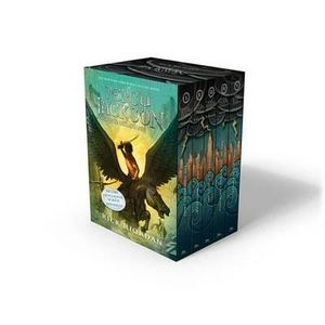 Percy Jackson and the Olympians 5 x Paperbacks in 1 x Boxed Set  : New Covers  - Rick Riordan