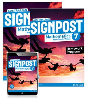 Australian Signpost Mathematics New South Wales 7  : Student Book/Homework Program/eBook 3.0 Combo Pack - Australian Curricullum - Alan McSeveny