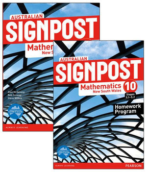 Australian Signpost Mathematics New South Wales 10 (5.1-5.2) Value Pack - Alan McSeveny