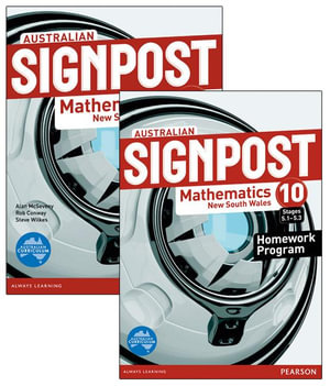 Australian Signpost Mathematics New South Wales 10 (5.1-5.3) Value Pack - Alan McSeveny