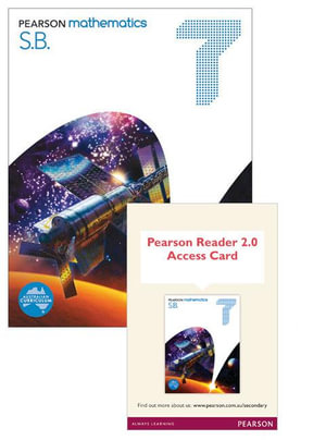 Pearson Mathematics 7 : Reader 2.0/Student Book Bundle - Australian Curricullum - David Coffey