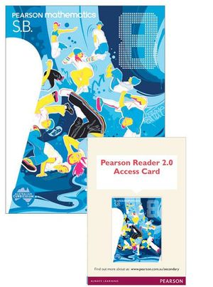 Pearson Mathematics 8 : Reader 2.0/Student Book Bundle - Australian Curricullum - David Coffey