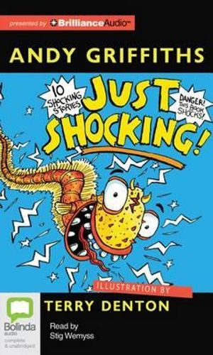 Just Shocking! : Just Books (Audio) - Andy Griffiths