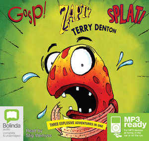 Gasp! Zapt! Splat! (MP3) - Terry Denton