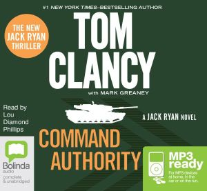 Command Authority (MP3) : A Jack Ryan Novel - Tom Clancy