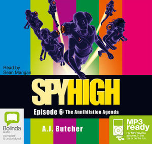The Annihilation Agenda (MP3) - A J Butcher