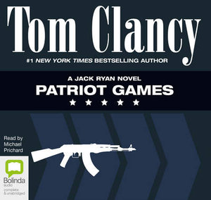 An action and suspense novel but more believable science fiction in patriot games by tom clancy