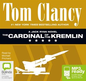 The Cardinal Of The Kremlin (MP3) : Jack Ryan #4 - Tom Clancy