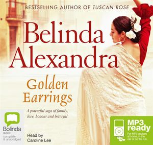 Golden Earrings (MP3) - Belinda Alexandra
