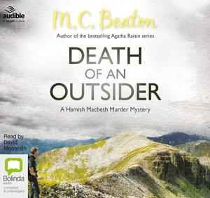 Death of an Outsider : Hamish Macbeth #3 - M. C. Beaton