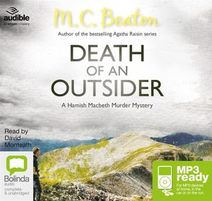 Death Of An Outsider (MP3) : Hamish Macbeth #3 - M. C. Beaton