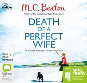 Death Of A Perfect Wife (MP3) : Hamish Macbeth #4 - M. C. Beaton