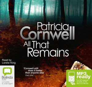 All That Remains (MP3) : Scarpetta #3 - Patricia Cornwell