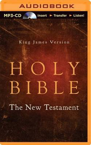 King James Version Holy Bible - The New Testament - George Vafiadis