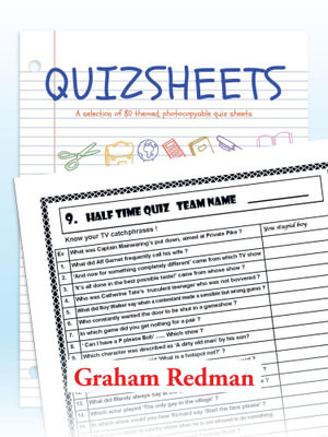 QUIZSHEETS : A selection of 80 themed, photocopyable quiz sheets - Graham Redman