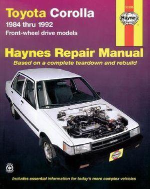 Toyota Corolla: Automotive repair manual (Haynes automotive repair manual series) Alan Ahlstrand
