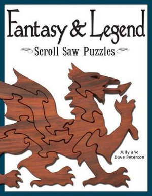 Fantasy and legend scroll saw puzzles judy peterson for Proyectos en madera pdf