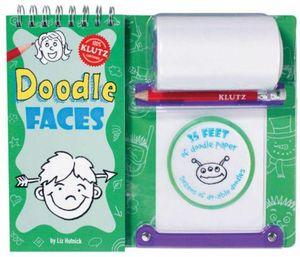 Klutz : Doodle Faces - Liz Hutnick