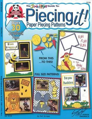 Piecing It!: The Scrap Happy Guide to Paper Piecing Patterns : Paper Piecing Patterns - Tnc Scraps
