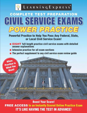 Civil Service Exams : Power Practice - Learning Express Llc