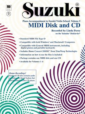 Suzuki Violin School, Vol 5 : General MIDI Disk CD-ROM - Linda Perry