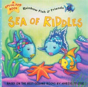 Booktopia sea of riddles a lift the flap book rainbow for Susan s fish and chips