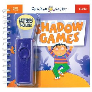 Shadow Games [with Flashlight] : Klutz Chicken Socks Series - Klutz