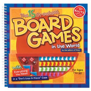 The 15 Greatest Board Games In The World : Klutz Series - Klutz