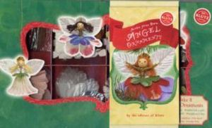 Make Your Own Angel Ornaments [With Glitter, Floss, Florist's Wire, Faux Leaves, Etc and Wooden Beads and Glue]