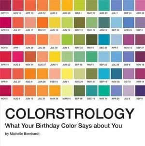 Colorstrology : What Your Birthday Color Says About You - Michele Bernhardt