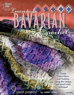 Learn to Do Bavarian Crochet : Annie's Attic: Crochet - Jenny King