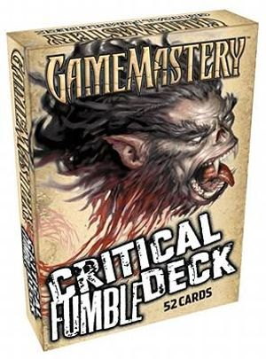 Critical Fumble Deck (Gamemastery) Paizo Publishing
