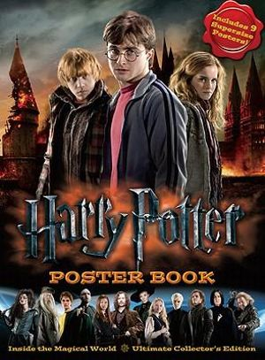 Harry-Potter-Poster-Book-By-Warner-Bros-NEW