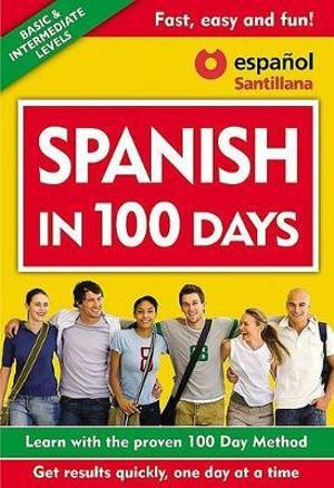 Spanish in 100 Days (Libro + 3 CDs) : Spanish in 100 Days - Aguilar