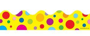 Booktopia - Col... Rainbow Dots Border