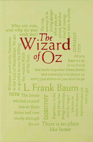 The Wizard of Oz : Word Cloud Classics - L. Frank Baum
