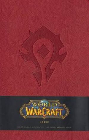 World of Warcraft Horde Ruled Journal - Insight Editions