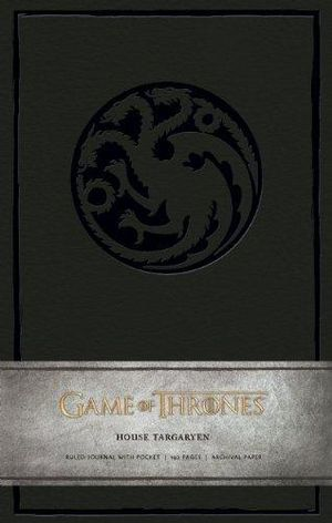 Game of Thrones Ruled Journal : House of Targaryen - Insight Editions